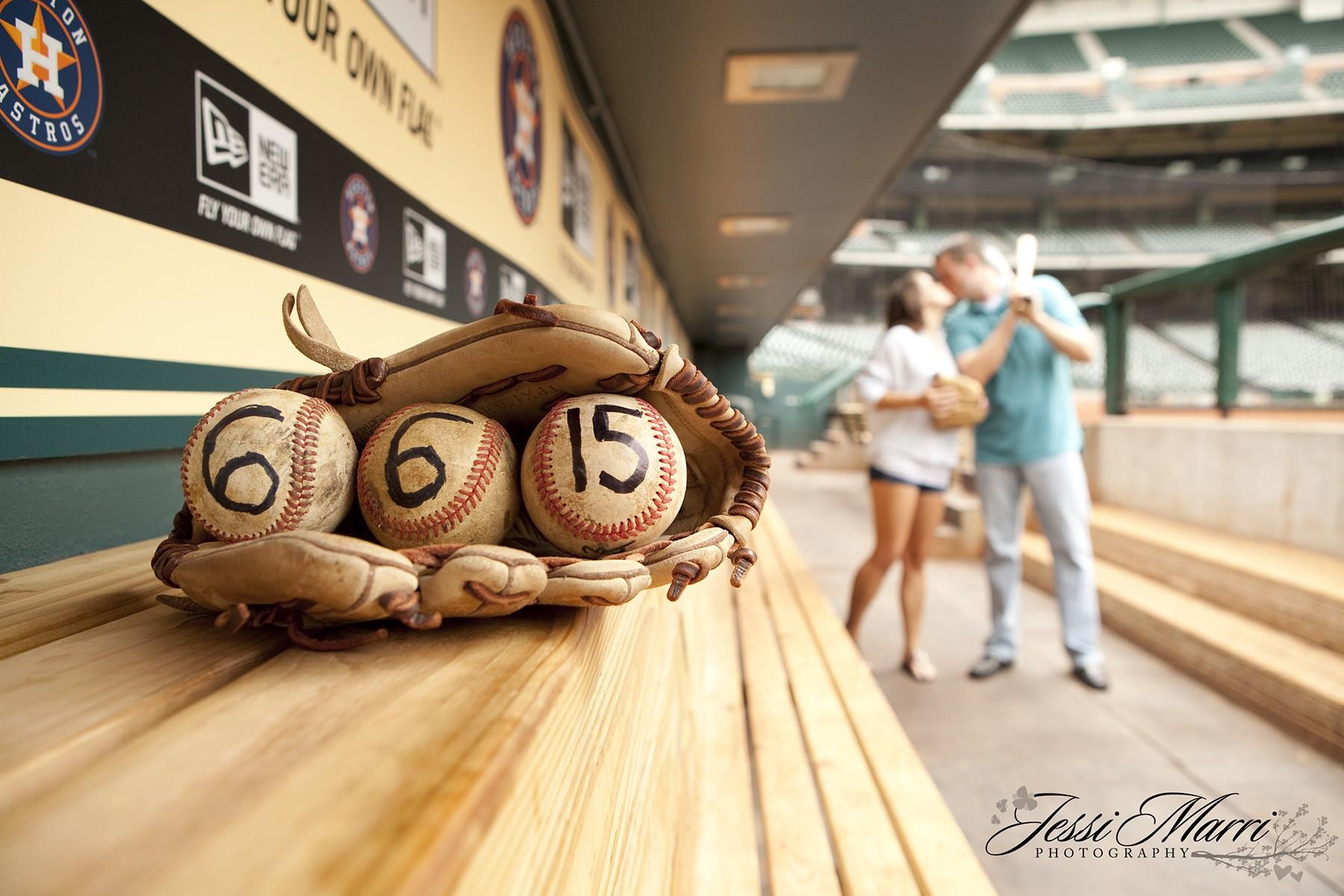 Houston Wedding Photography - Baseball