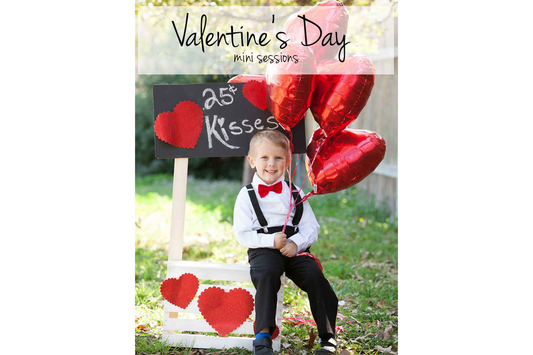Valentine's Day Photography Special - Two Hearts Photography