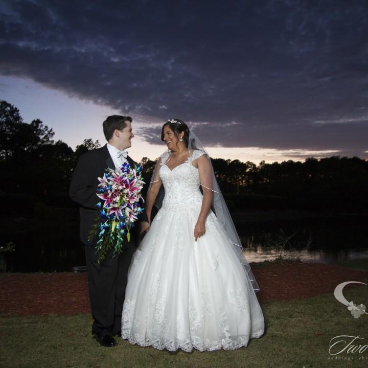 Matt and Sophie's Tuscan Courtyard Wedding