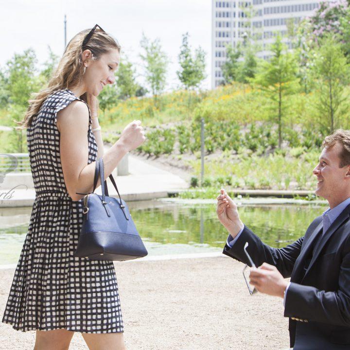 She Said Yes! A Houston Proposal