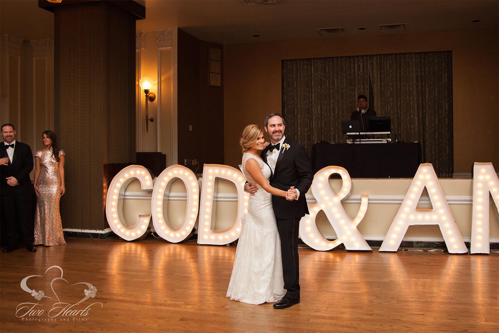 Amy & Cody - Downtown Houston Wedding Photographers