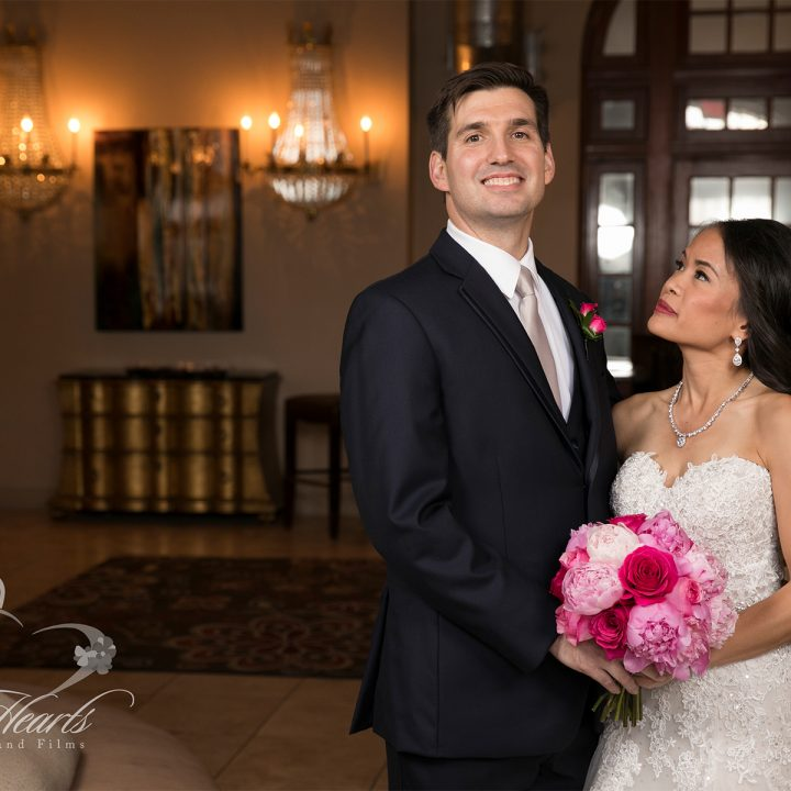 Houston Wedding Photography At The Crystal Ballroom