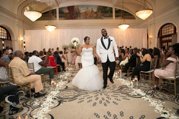 Crystal Ballroom Wedding Photographer - Two Hearts Studios