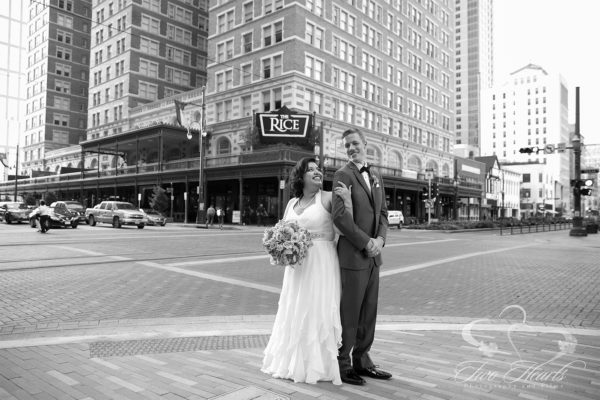 Crystal Ballroom Wedding Photography - Two Hearts Studios