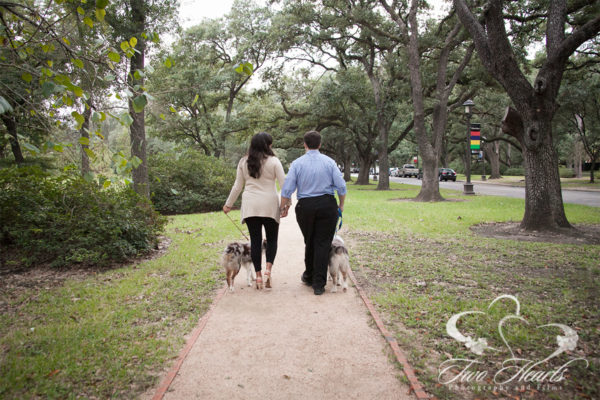Engagement Photographers Houston - Two Hearts Studios