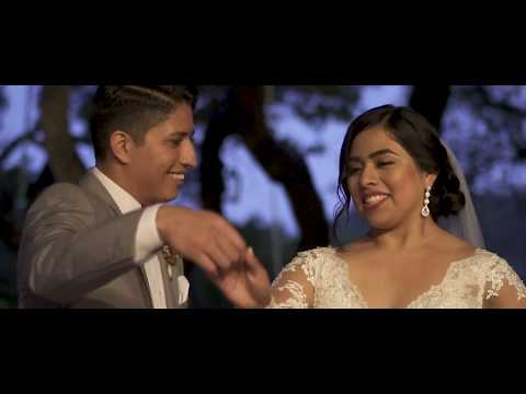 Leticia & Obed's Rancho Mirando Wedding... During Hurricane Harvey!