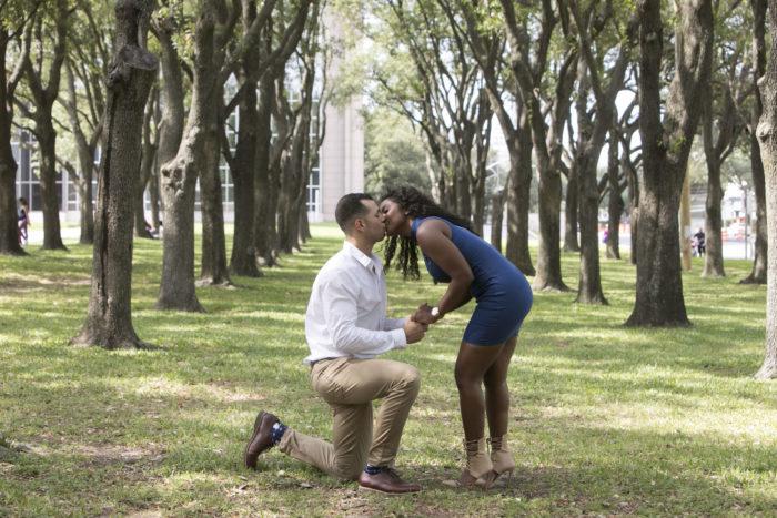 Houston proposal photography